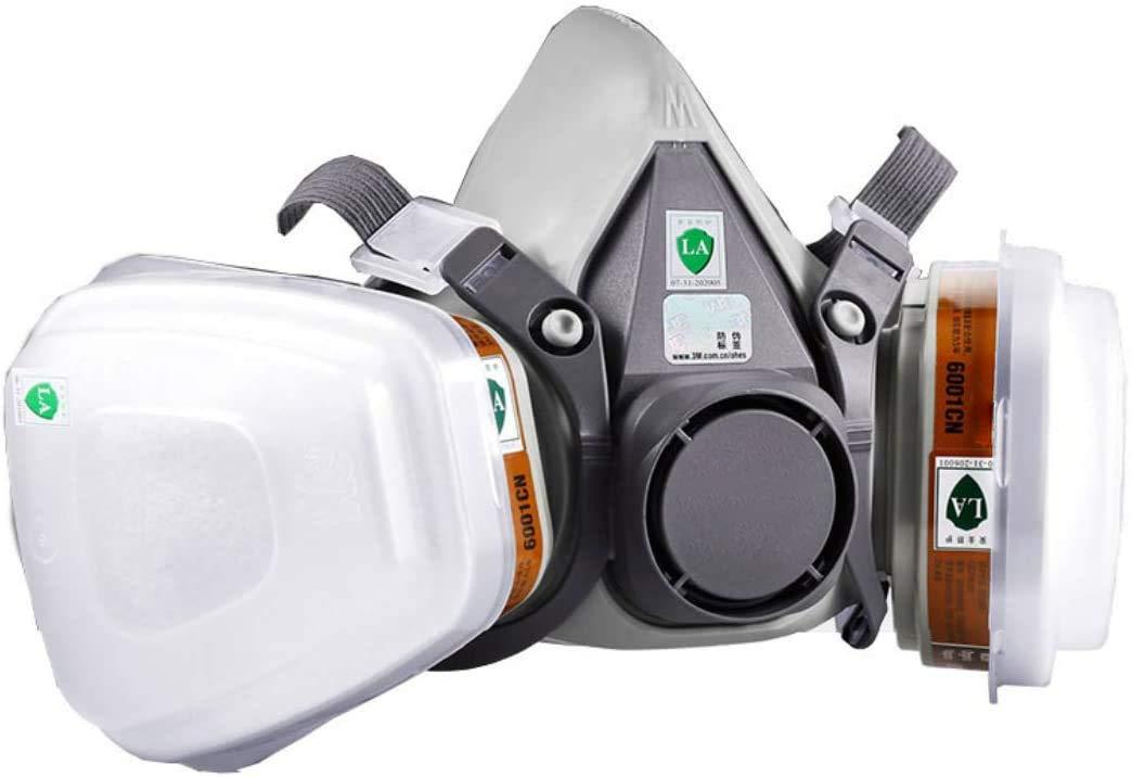 YingDeLi 6200a accesorio de respirador medio cartucho filtro repelente de tinta soldadura de gas polvoriento