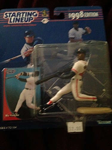 1998 Edition - Kenner - Starting Lineup - MLB - Mo Vaughn #42 - Boston Red Sox - Vintage Action Figure - w/ Trading Card - Limited Edition - Collectible