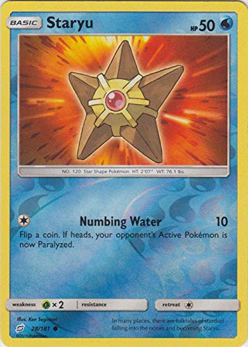 Staryu - 28/181 - Common - Reverse Holo - Team Up