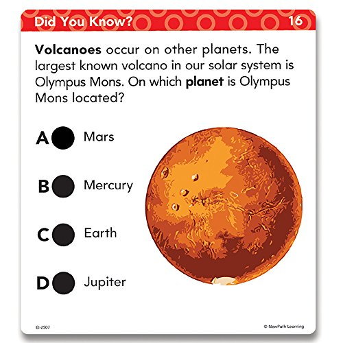 Educational Insights Hot Dots Science Standards-Based Review Cards - Grade 3 Photo #5