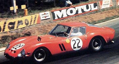 1962 Ferrari 250 GTO - 24 Hours of Le Mans - Photo Poster
