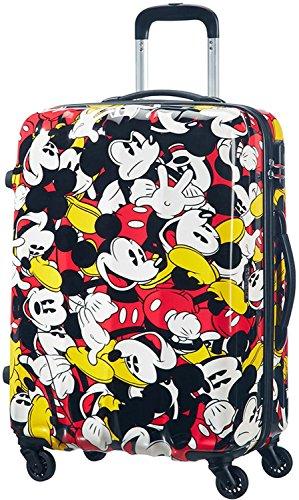 Samsonite American Tourister Disney leyendas Spinner maleta, 65cm, 52L, Mickey Mouse Comics