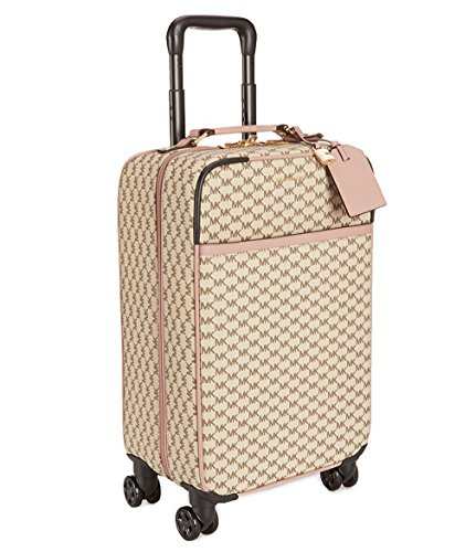 NEW AUTHENTIC MICHAEL KORS TROLLEY TRAVEL SUITCASE LUGGAGE (Natural/Fawn Signature) by Michael Kors