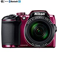 Nikon COOLPIX B500 16MP 40x Optical Zoom Digital Camera w/ Wi-Fi (Plum) - (Certified Refurbished) from Nikon