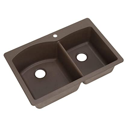 Blanco 440213 Diamond Double Basin Drop In Or Undermount Granite Kitchen  Sink, Cafe