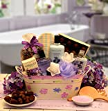 Tranquility Spa Gift Basket for Her w/ Decadent Chocolates