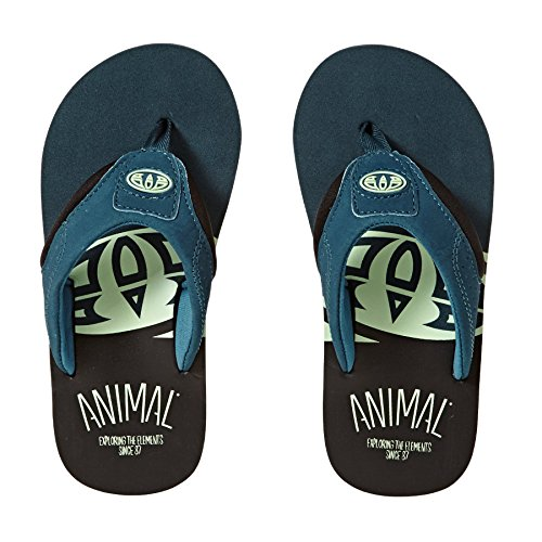 2018 Animal Jekyl Slice Junior Flip Flops Bluebird Blue FM8SN601 Legion Blue