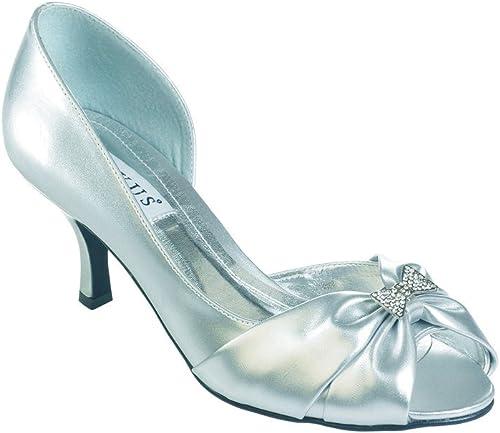 Ladies Medium Heel widefit Shoe for