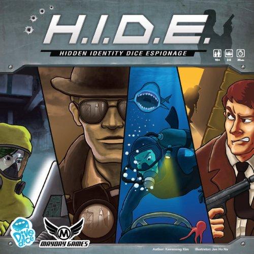 Mayday Games H.I.D.E. Hidden Identity Espionage Dice