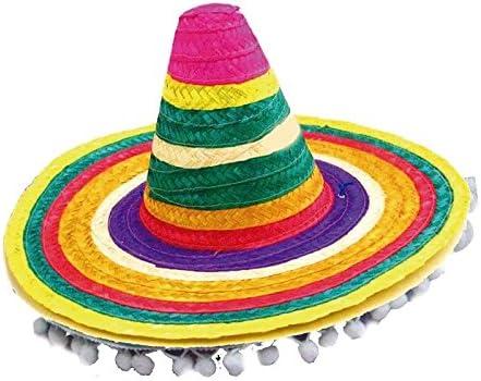 Sombrero Mejicano Borlas Infantil