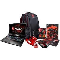 MSI GE62MVR APACHE PRO-003 15.6 Gaming Laptop (Kaby Lake) - Core i7-7700HQ, 16GB RAM, 256GB SSD + 1TB HDD, GTX 1070 8GB, Win 10 + Gaming Bundle