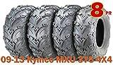 375 tires - 24x8-12 & 24x10-12 Premium 8PR ATV Tires Set for 09-13 Kymco MXU 375 4X4
