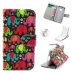 YULIN Teléfono Móvil Samsung - Carcasas de Cuerpo Completo/Fundas con Soporte - Gráfico/Dibujos Animados/Cráneos Chéveres/Diseño Especial - para Samsung