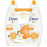Dove go fresh Body Wash, Mandarin and Tiare Flower 22 oz, Twin Pack Review