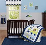 Carter's Monkey Crib Set 3 Piece-green