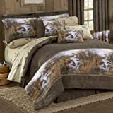 Duck Approach 8 Pc King Comforter Set (Comforter, 1 Flat Sheet, 1 Fitted Sheet, 2 Pillow Cases, 2 Shams, 1 Bedskirt) SAVE BIG ON BUNDLING!