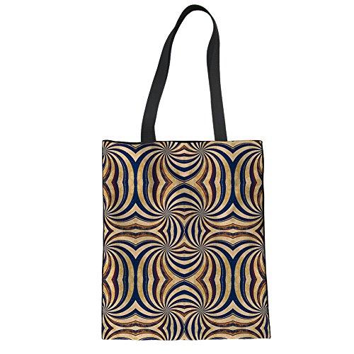 13 Casual Girls Handbag Tote Print Color Travel Boys Advocator Canvas Pattern Shopping Women Stylish for Beach Bags aI4wAq