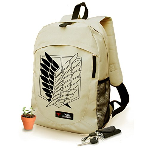 Attack on Titan Backpack Rucksack Anime Book Bag School Bag for Teens