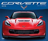 Corvette 2018 14 x 12 Inch Monthly Deluxe Wall Calendar with Foil Stamped Cover, Chevrolet Motor Muscle Car (Multilingual Edition)