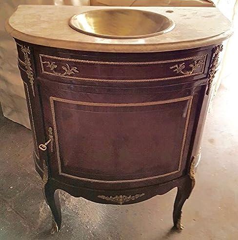 Barock Waschtisch Antik Stil Kommode Marmor Barock Antik Stil ...