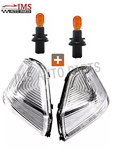 Indicator Lens 001 (Mercedes Sprinter Wing Mirror Door Indicator Lens Pair O/S & N/S 2006-16+BULB)