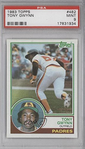 Tony Gwynn Graded PSA 9 MINT (Baseball Card) 1983 Topps - [Base] #482