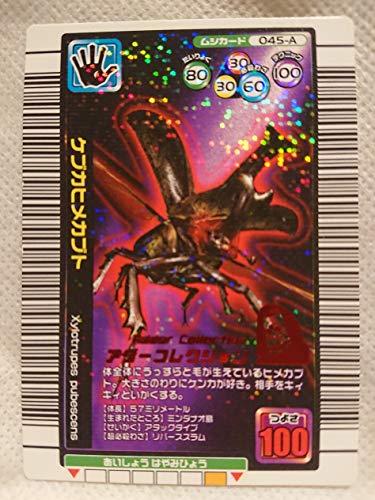 ムシキング 甲虫王者ムシキング ムシカード 045-A ケブカヒメカブトの商品画像
