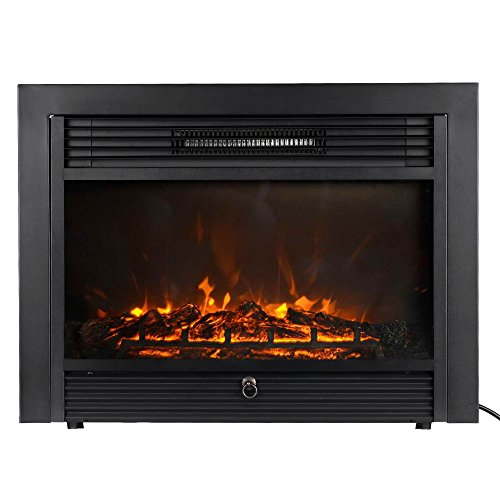 Homgeek Embedded Electric Fireplace Insert Heater