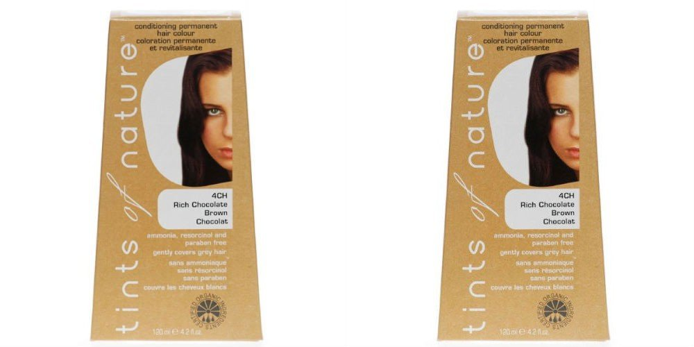 (2 Pack) - Tints of Nature - Rich Chocolate Brown | 120ml | 2 PACK BUNDLE