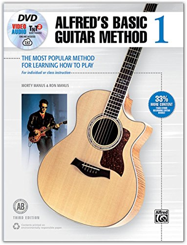 - Alfred Basic Guitar Method 1, 3rd Edition Book, DVD, Online Audio, Video and Software