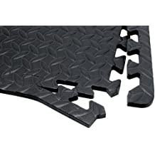 Performance Tool Diamond Shape Anti-Fatigue Interlocking Floor Mat