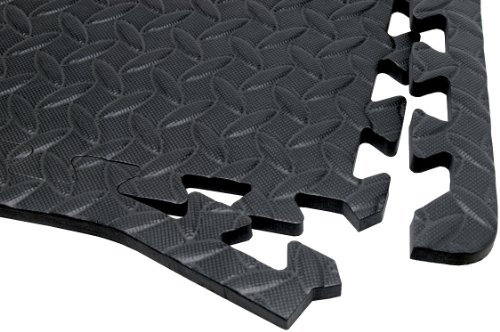 Performance Tool Diamond Shape Anti-Fatigue Interlocking Floor Mat