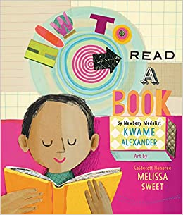 Image result for how to read a book kwame alexander