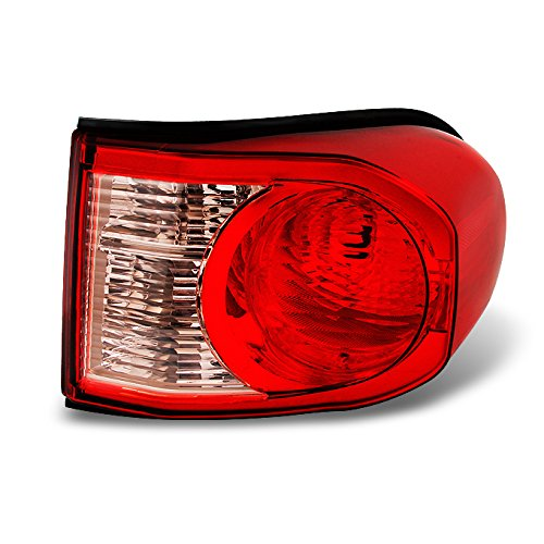 For Toyota FJ Cruiser SUV Red Clear Rear Tail Light Brake Lamp Taillamp Repalcement Passenger Right Side