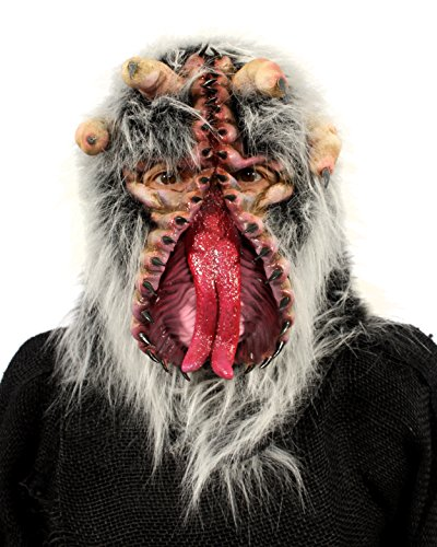 Zagone Studios The Trap Monster Mask (Venus Fly Trap Fanged Finger Alien) -