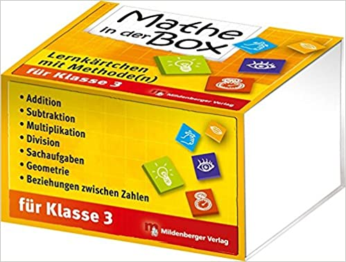 Mathe in der Box – Lernkärtchen mit Methode n , Klasse 3: Amazon.de ...