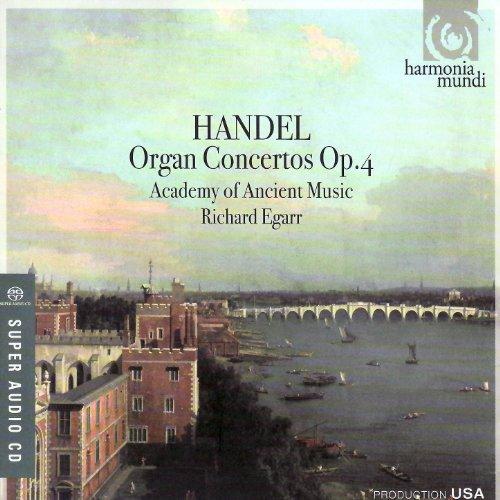 Organ Handel Music - Handel: Organ Concertos, Op. 4