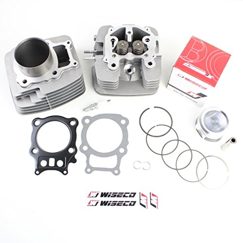 (NICHE Cylinder Wiseco Piston Gasket Head Top End Kit for Honda Rancher TRX350 2000-2006)