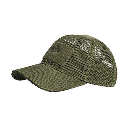 - HELIKON-TEX Headgear, Baseball Mesh Cap Olive Green