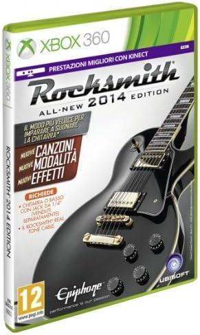 Ubisoft Rocksmith 2014, Xbox 360 + Real Tone Cable - Juego (Xbox 360 + Real Tone Cable, Xbox 360, Música, T (Teen)): Amazon.es: Videojuegos