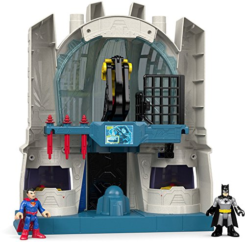 justice+league Products : Fisher-Price Imaginext DC Super Friends Hall of Justice Playset