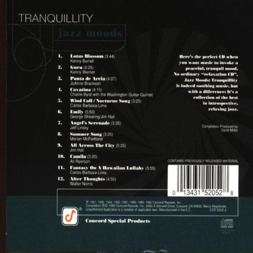 Jazz Moods: Tranquility by Concord Records
