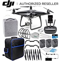 DJI Phantom 4 PRO Obsidian Edition Drone Quadcopter (Black) Ultimate On-The-Go Bundle