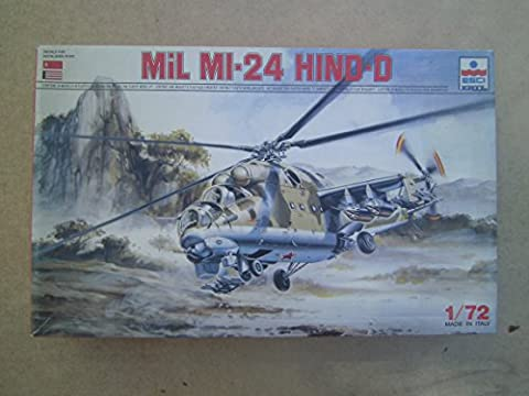1/72 scale Russian Mil MI-24 Hind - D Helicopter - Mi 24 Hind Helicopter