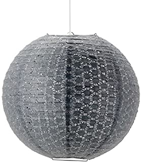 cool mathias dlice boule suspendre w e v gris papier diamtre cm with suspension boule papier ikea. Black Bedroom Furniture Sets. Home Design Ideas