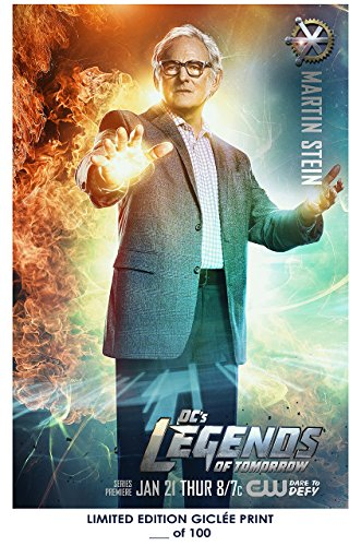 Rare Poster thick martin stein Dc's Legends Of Tomorrow victor garber tv Reprint #'d/100!