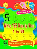 Write 123 Step by Step - 1 to 50 ( Big Book Series ), HuSam Network, 1497305063