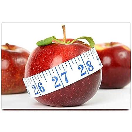 Apple Food imán para nevera Souvenir de pérdida de peso: Amazon.es ...