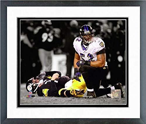 Ray Lewis Baltimore Ravens Spotlight Action Photo (Size: 12.5