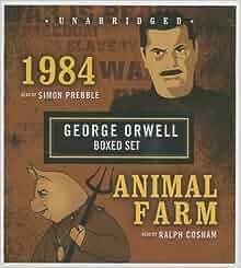 A look at george orwells animal farm and 1984 novels